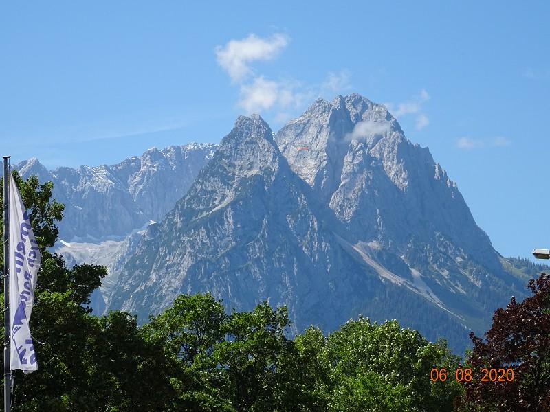 Garmisch -Partenkirchen August 2020 Waxenstein und Co